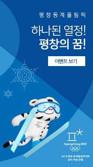 평창동계올림픽 하나된 열정! 평창의 꿈!
