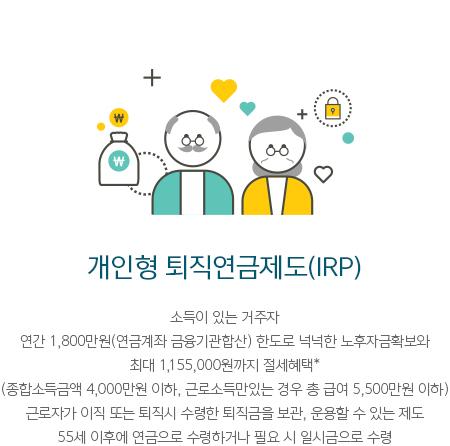 개인형 퇴직연금제도(IRP)