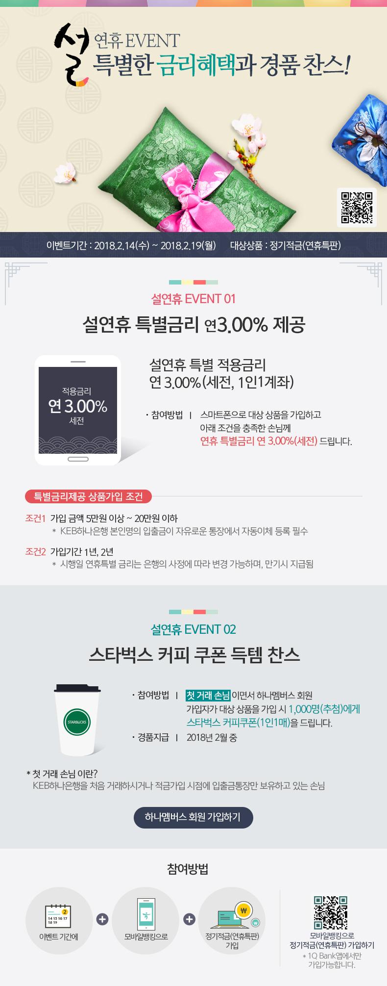 설연휴 EVENT- 특별한 금리혜택과 경품 찬스!
