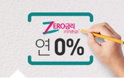 ZERO 금리(이자환급) 신용대출 이벤트 썸네일 이미지